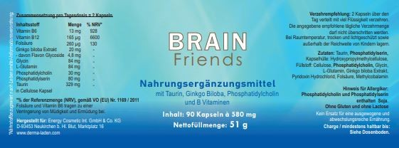 Brain Friends, 90 Kps