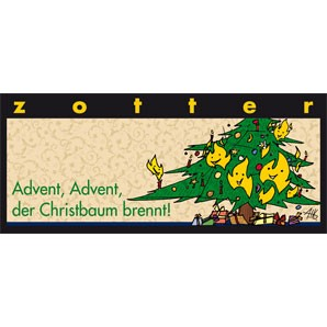 Adven, Advent, der Christbaum brennt!